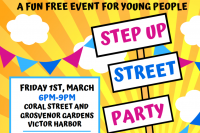 Step Up Street Party Poster