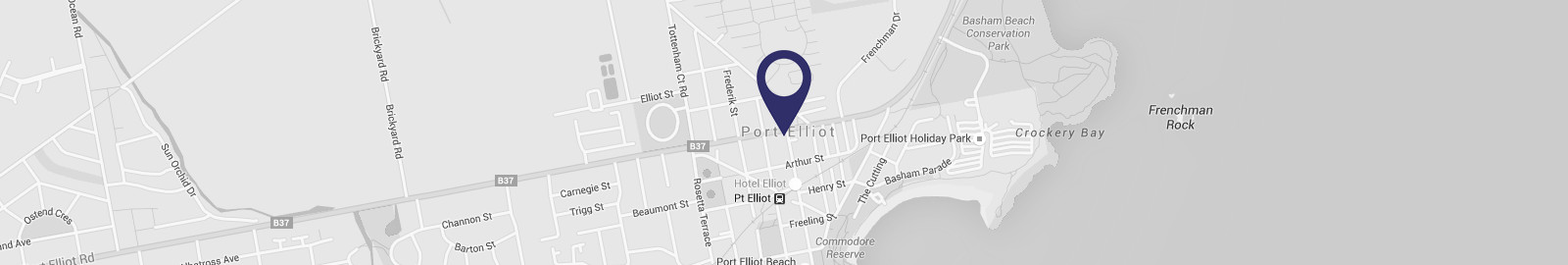 Google map image of location at 51 The Strand, Port Elliot, South Australia 5212